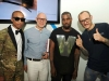 Pharrell Williams, Craig Robins, Kanye West and Terry Richardson