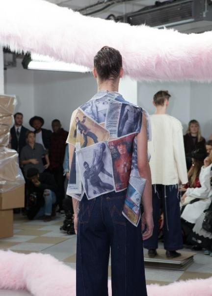 Alex Mullins AW15 (Kensington Leverne, courtesy of British Fashion Council)