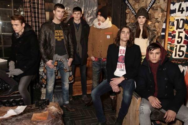 Superdry AW15 (Darren Gerrish, courtesy of British Fashion Council)