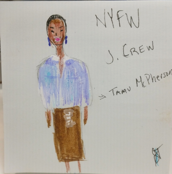Tamu McPhearson for J. Crew