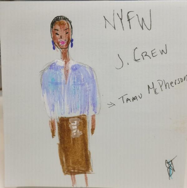 Tamu McPhearson for J. Crew