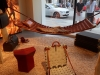 Objets Nomades -  Leather Travel Stool, Hammock and Beach Chair
