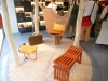 Objets Nomades - Stool, Swing Chair and Love Bench