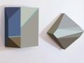 SIA.NY_ZinHelenaSong_Origami 1 #16,12x15,#17,12x12, mixed media on wood_2014