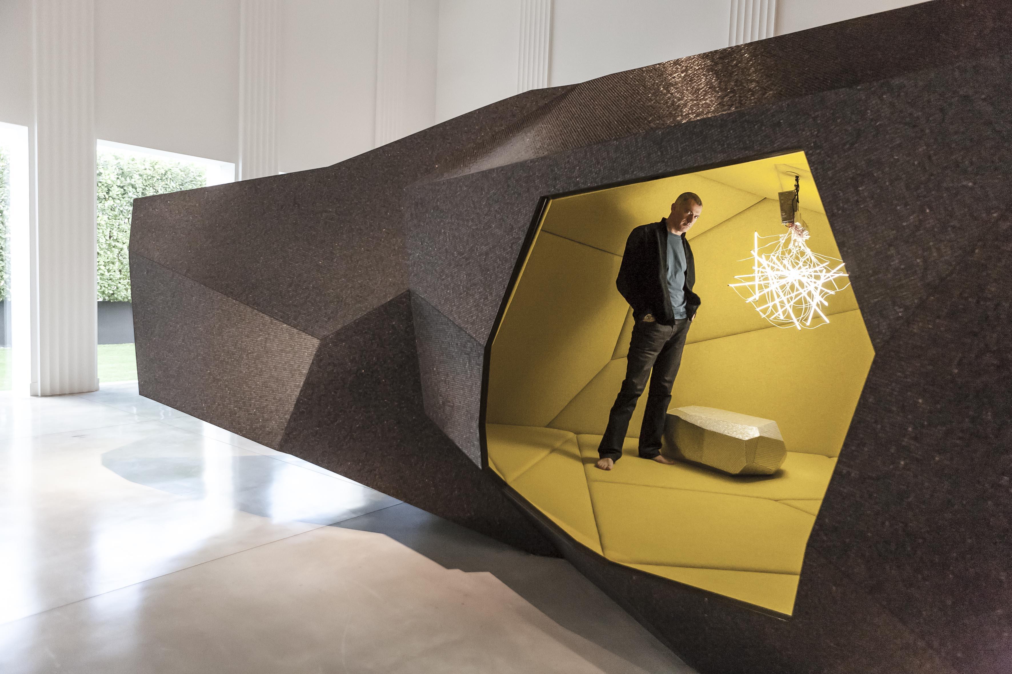 bisazza foundation x arik levy design miami breakfast. Black Bedroom Furniture Sets. Home Design Ideas