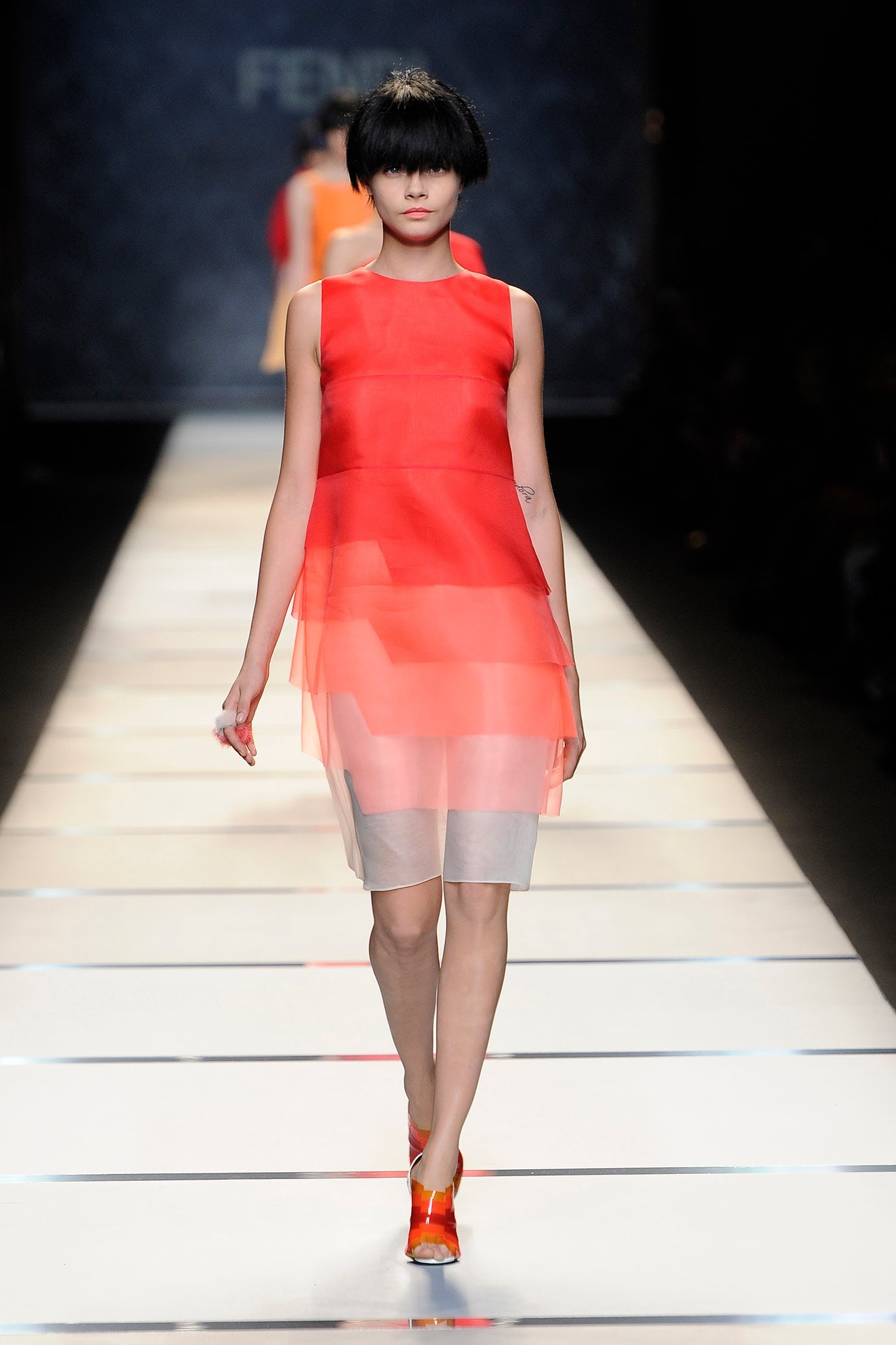 #MFW – FENDI SS 2014 COLLECTION