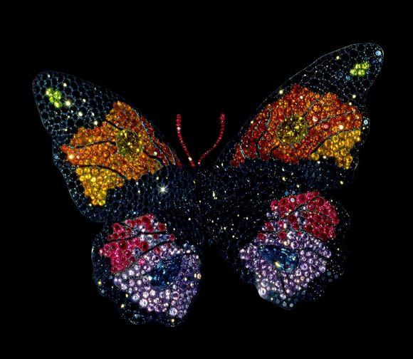 Butterfly Brooch 1994 by JAR