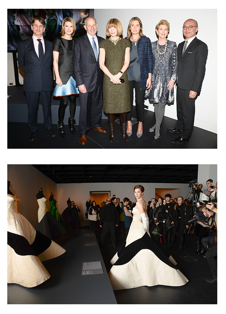 Met's Charles James: Beyond Fashion Press Event