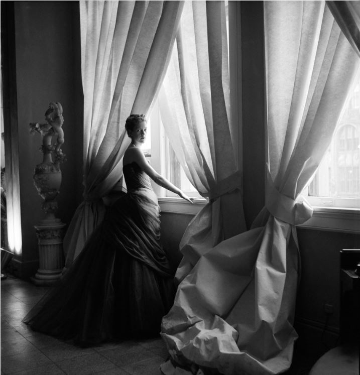 3. Nancy James in Charles James Swan Gown, 1955  Courtesy of The Metropolitan Museum of Art, Photograph by Cecil Beaton, The  Cecil Beaton Studio Archive at Sotheby's