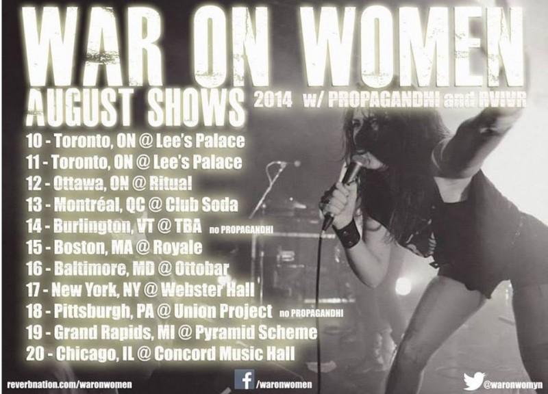 War on Women via Stepahnie Marlow Publicity