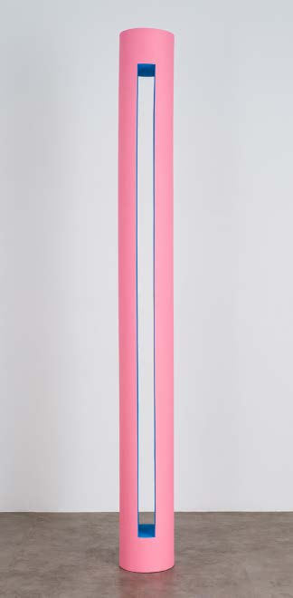 10. Lisa Williamson Long Stretch, 2014 Wood, resin, acrylic 108 x 11 1/2 x 11 1/2 inches TIF SIGFRIDS