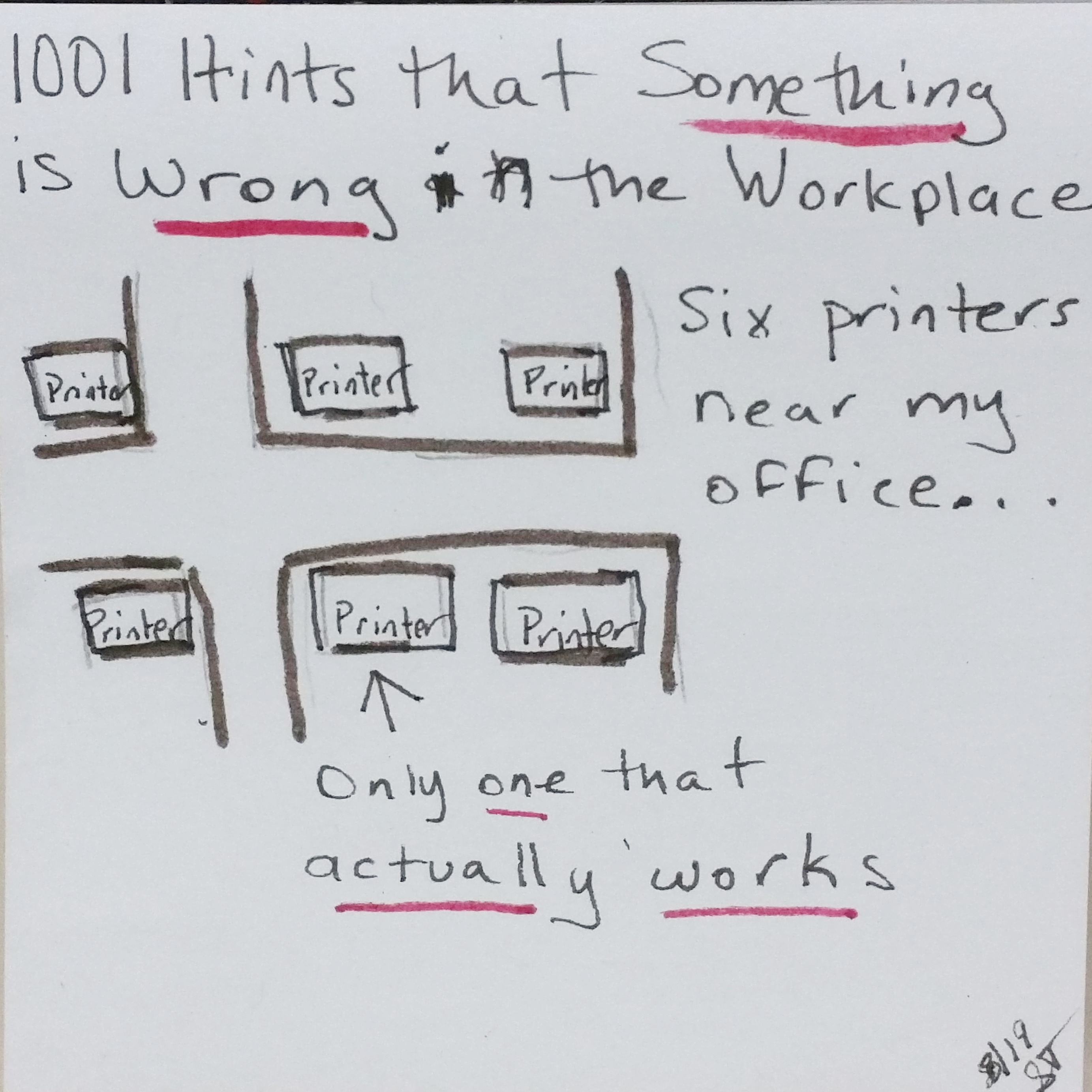 1001 Hints that Something is Wrong in the Workplace-1